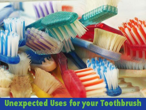 Unexpected uses for your Toothbrush